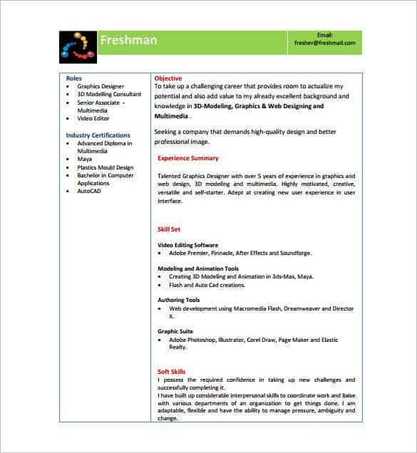 resume templates for freshers pdf free premium format with photo director fresher min Resume Free Download Resume Format For Freshers With Photo