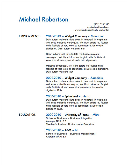 resume templates for microsoft word free primer magazine template degree received on Resume Primer Magazine Resume Templates