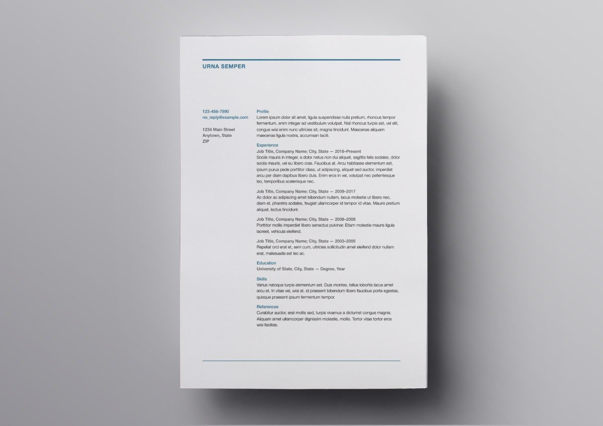 resume templates free for mac references template min training director professional Resume Resume References Template Download