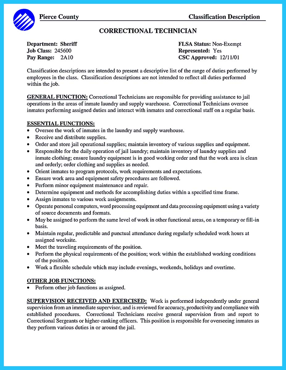 resume templates prison social worker sample correctional officer duties check for ats Resume Correctional Officer Duties Resume