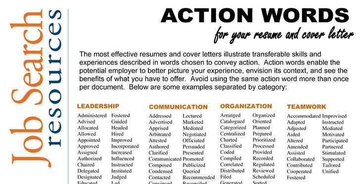 resume verbs leadership action for administrative objective worded linkedin review Resume Leadership Action Verbs For Resume