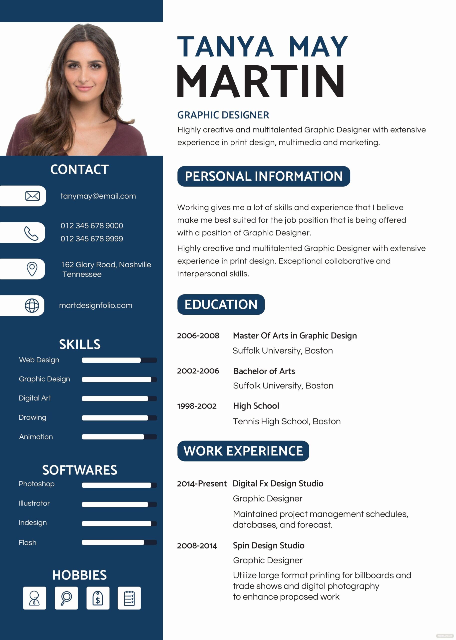 resume with template luxury free professional and cv in ms word desain kreatif graphic Resume Professional Graphic Design Resume