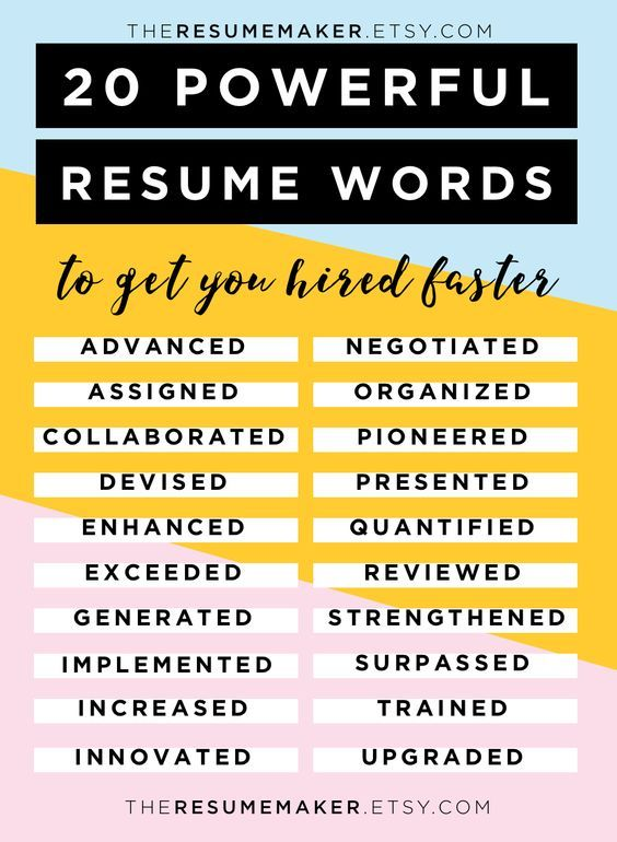 resume words free tips template action college he advice for customer service Resume Resume Power Words For Customer Service