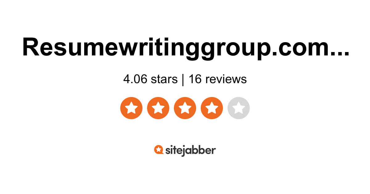resume writing group reviews of resumewritinggroup sitejabber review appraiser assistant Resume Review Resume Writing Group