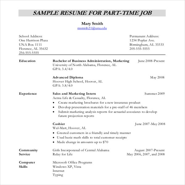 resume writing template free sample example format premium templates samples for freshers Resume Resume Writing Samples For Freshers