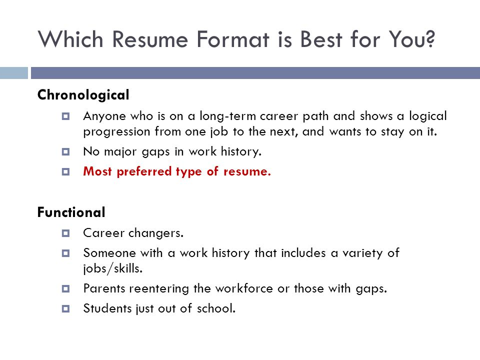 resume writing tips for one term job which format is best you barista description past Resume Resume For One Long Term Job