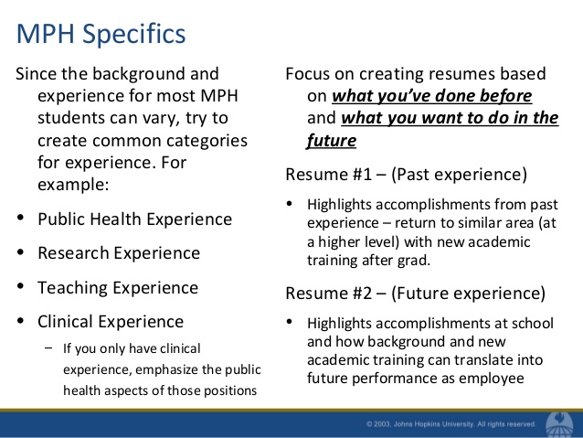 resumes and cvs for mph students fall public health professional resume best military Resume Public Health Professional Resume