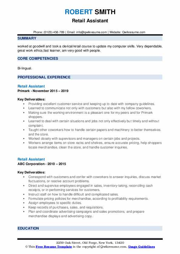 retail assistant resume samples qwikresume sample pdf hedge fund electrician objective Resume Retail Assistant Resume Sample