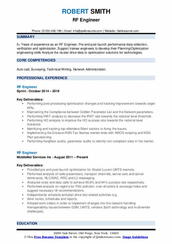 rf engineer resume samples qwikresume entry level sample pdf traditional different styles Resume Entry Level Rf Engineer Resume Sample