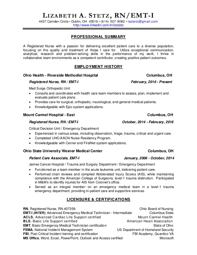 rn resume orthopedic nurse format images for freshers certified advanced writer teaching Resume Orthopedic Nurse Resume