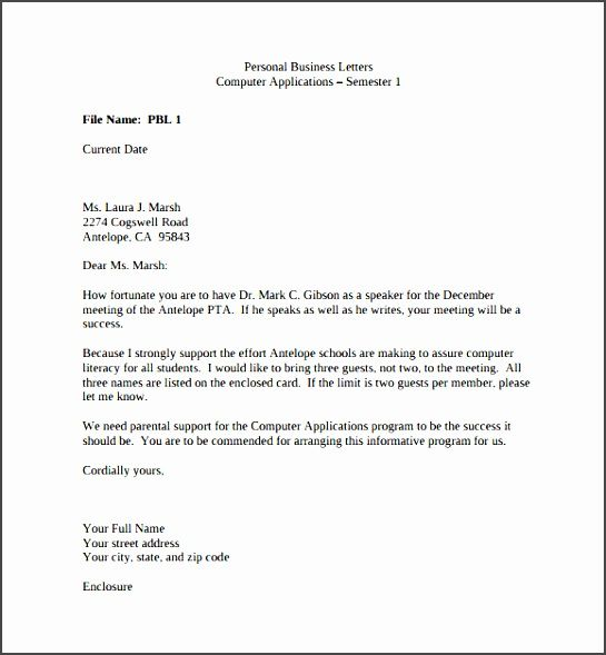 sample business letter 6ijgb unique personal documents in pdf word format example resume Resume Business Letter Resume Example
