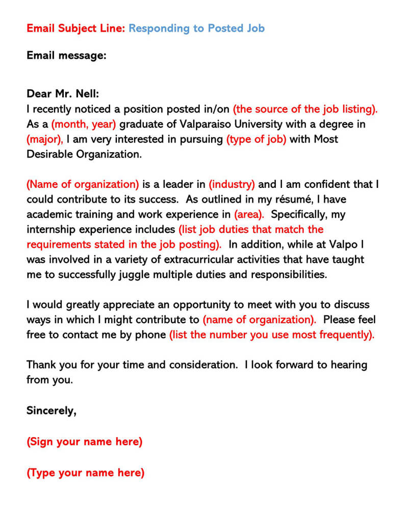 sample email cover letters examples to write and send job resume subject letter Resume Job Resume Email Subject