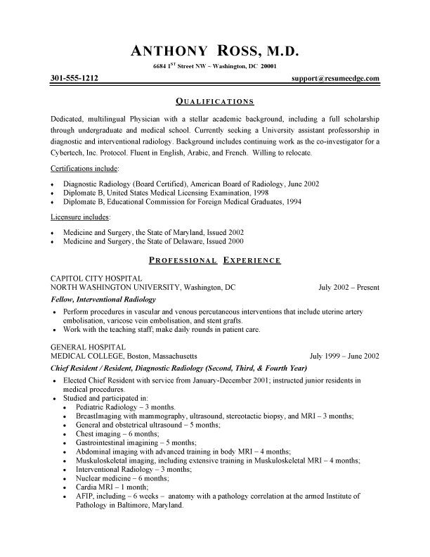 sample physician resumes hayzelmolicommunications in business resume template examples Resume Physician Resume Sample