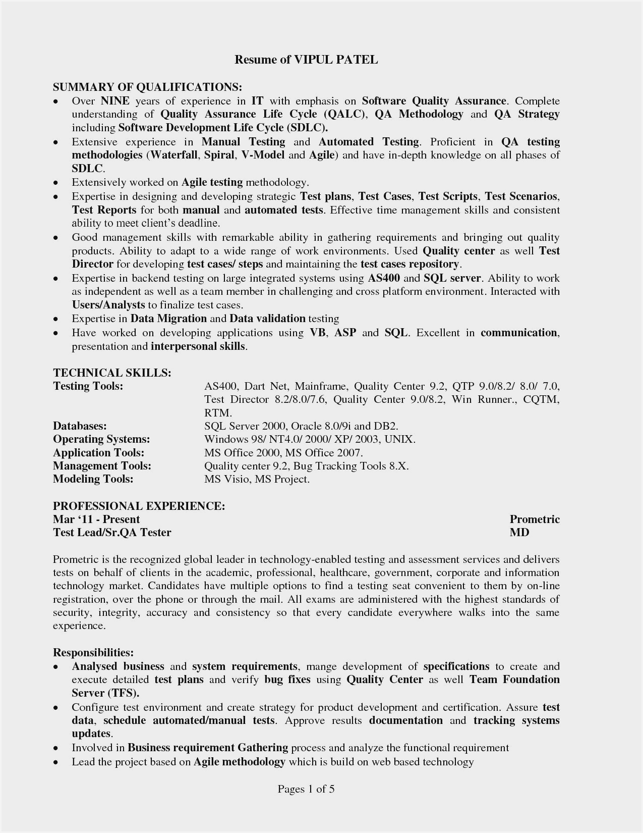sample resume for experienced software tester entry level manual coach subscription Resume Entry Level Software Tester Resume Sample