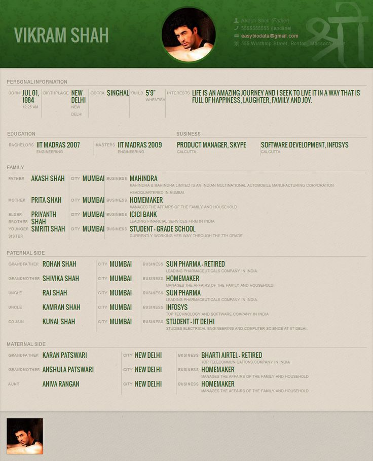 sample resume marriage iit madras template jewelry consultant job description for indian Resume Iit Madras Resume Template