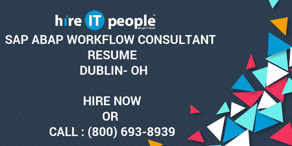 sap abap workflow consultant resume dublin oh hire it people we get done data management Resume Sap Abap Workflow Resume