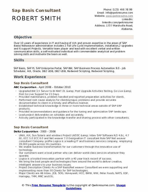sap basis consultant resume samples qwikresume for years experience pdf speech language Resume Sap Basis Resume For 3 Years Experience