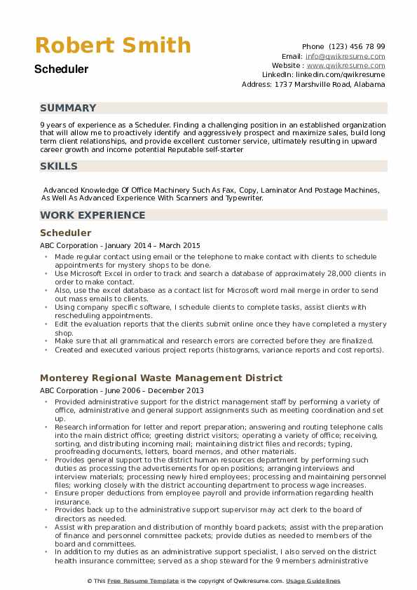 scheduler resume samples qwikresume for position pdf cisco ise quotation specialist Resume Resume For Scheduler Position
