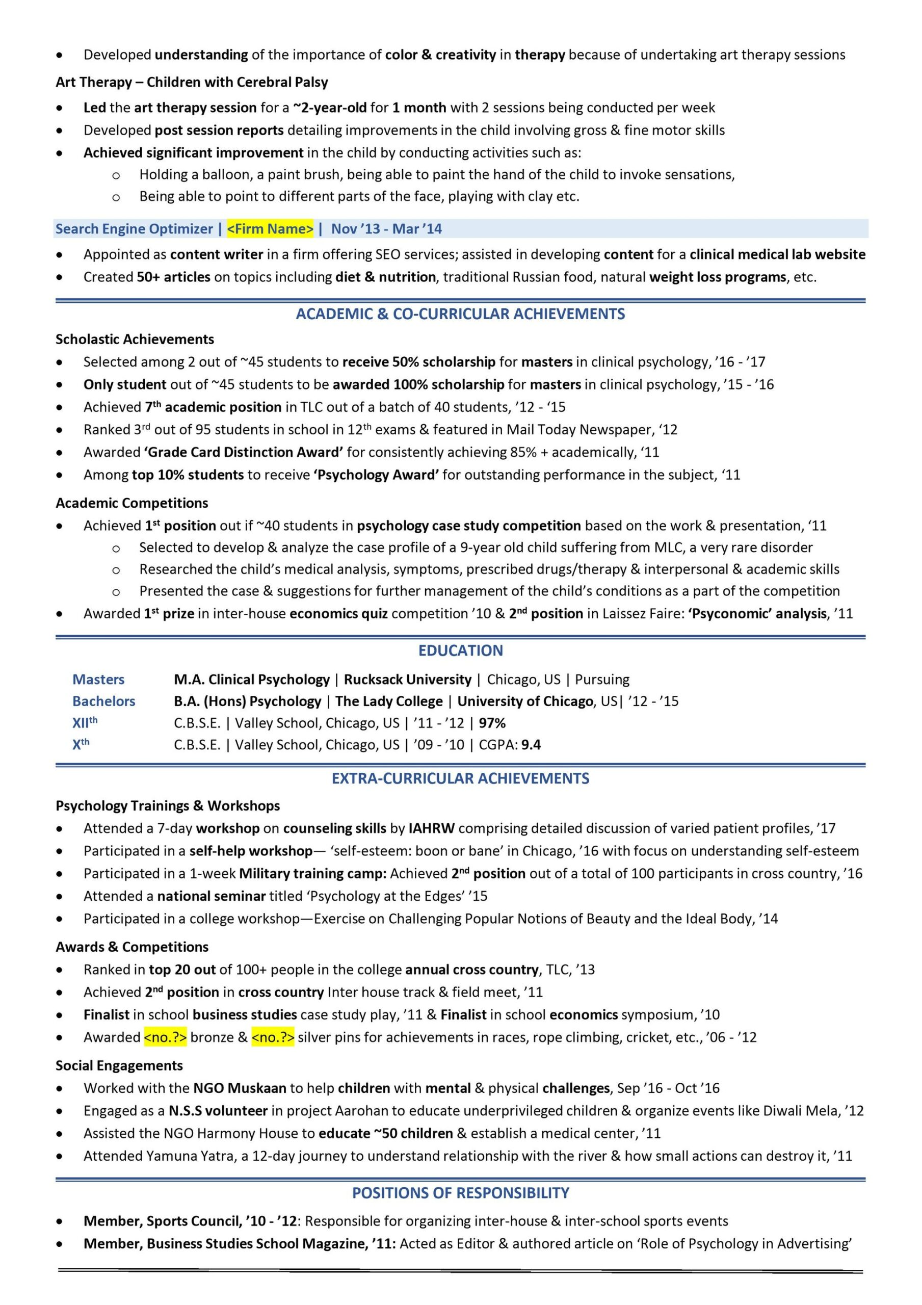 scholarship resume guide with examples samples sample template profile statement format Resume Scholarship Resume Sample