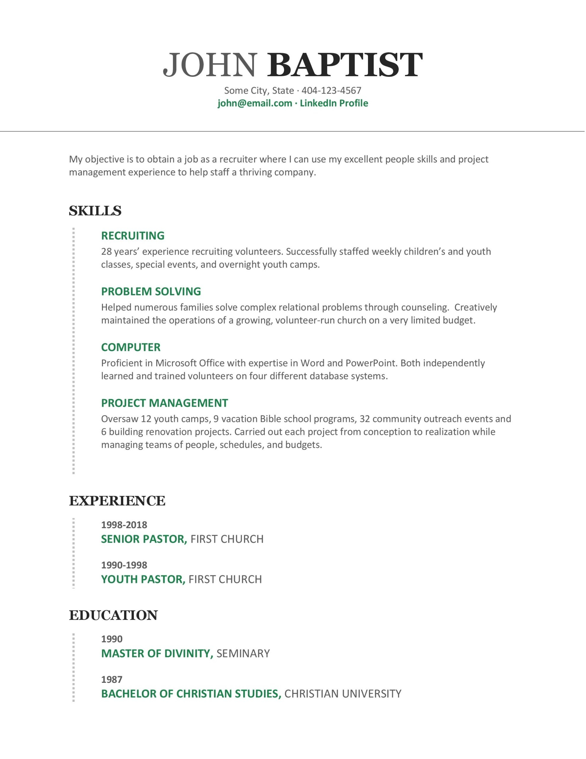 secular jobs for pastors writing relevant resume the pastor wallet pastoral candidate Resume Resume For Pastoral Candidate