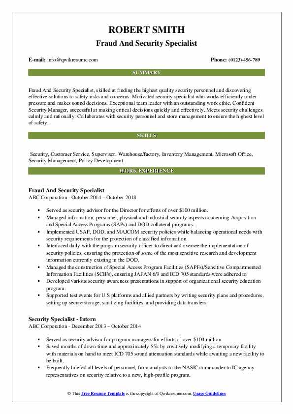 security specialist resume samples qwikresume industrial pdf good examples physician Resume Industrial Security Specialist Resume