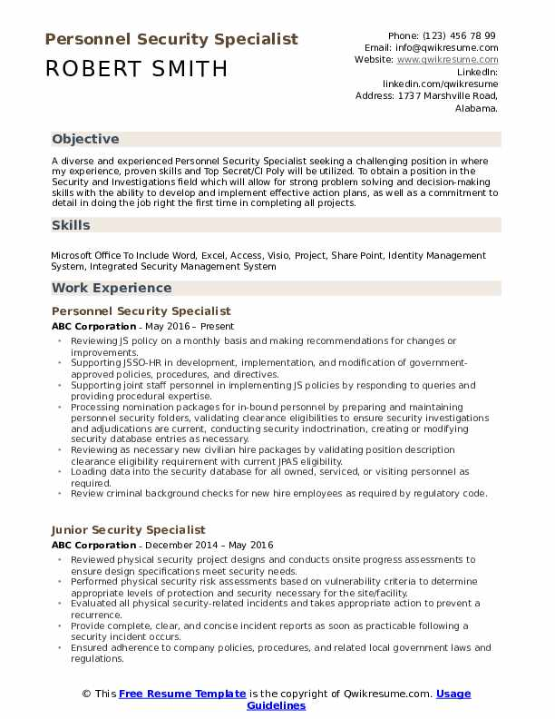 security specialist resume samples qwikresume industrial pdf transferable skills format Resume Industrial Security Specialist Resume