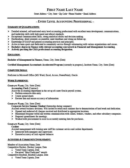 senior accounting manager resume template premium samples example accountant job examples Resume Entry Level Staff Accountant Resume Examples