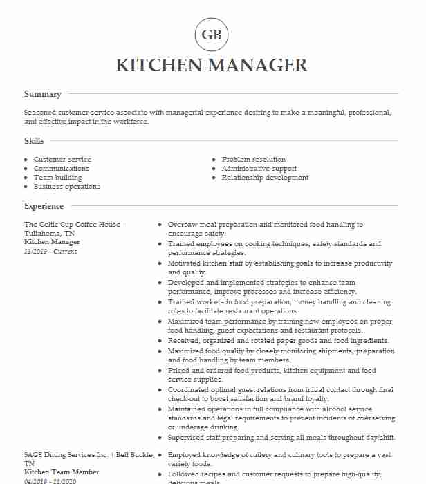 senior kitchen manager resume example the cheesecake factory berwyn summary truck driver Resume Kitchen Manager Resume Summary