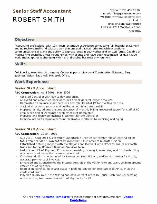 senior staff accountant resume samples qwikresume entry level examples pdf conducted Resume Entry Level Staff Accountant Resume Examples
