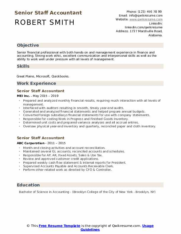 senior staff accountant resume samples qwikresume entry level examples pdf microservices Resume Entry Level Staff Accountant Resume Examples
