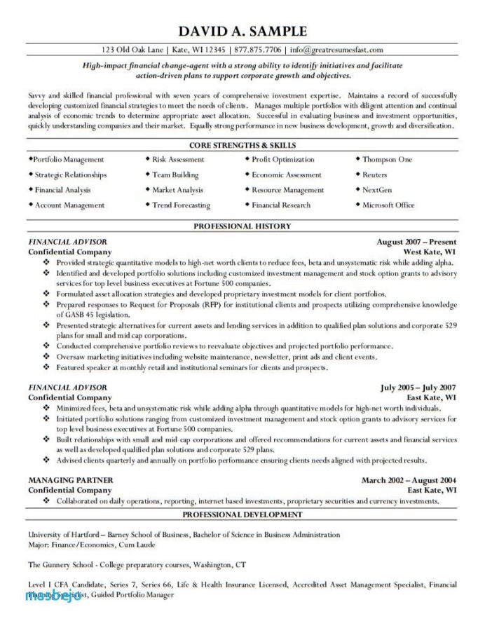 service advisor resume investment scientist examples linkedin profile for format with Resume Investment Advisor Resume
