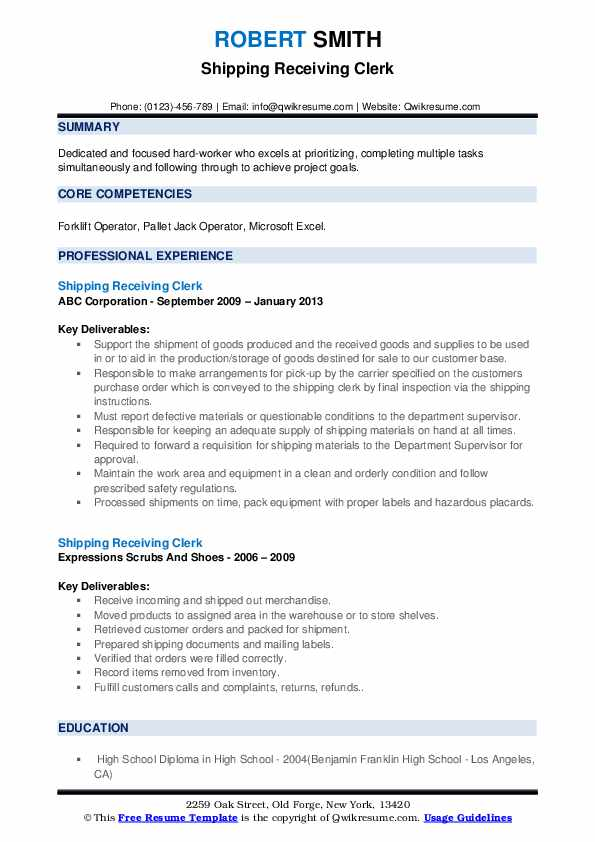 shipping receiving clerk resume samples qwikresume and pdf monster service review retail Resume Shipping And Receiving Clerk Resume