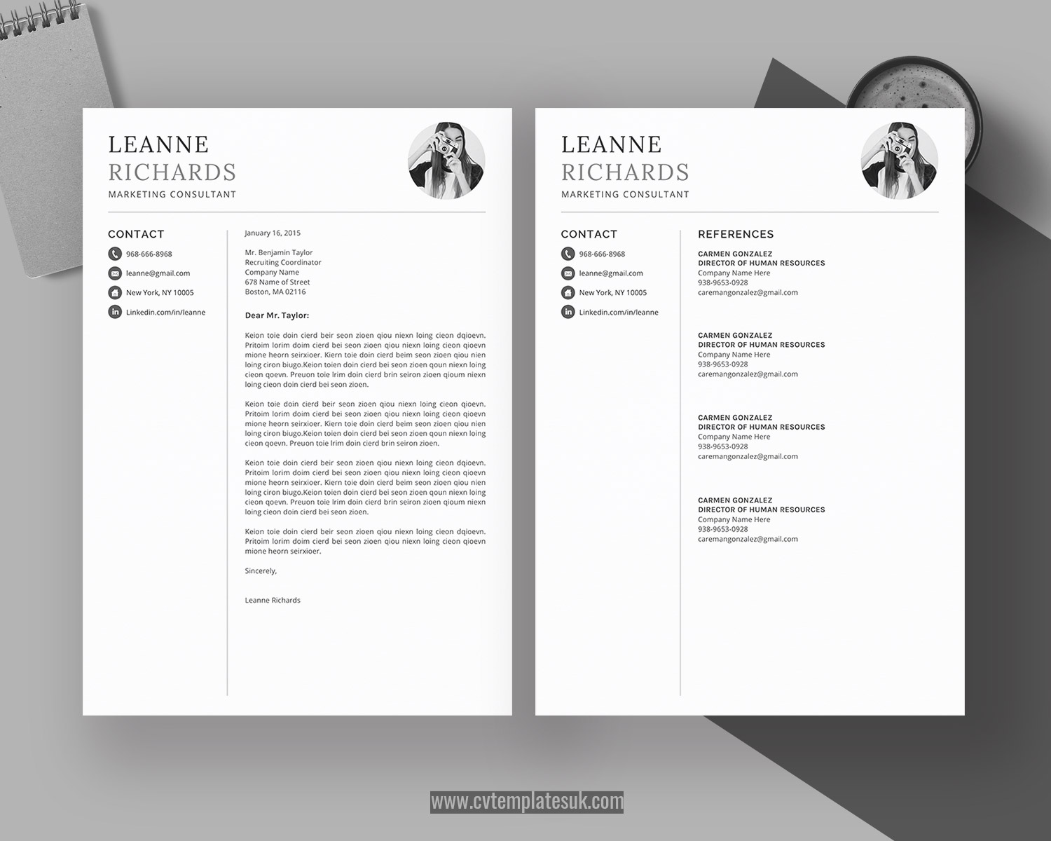 simple cv template microsoft word format minimalist resume design cover letter references Resume Resume References Template Download