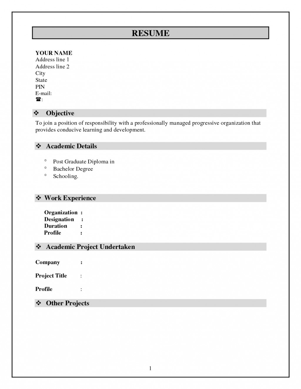 simple resume template free addictionary word ideas match psg credit manager format high Resume Simple Resume Template Free Download Word