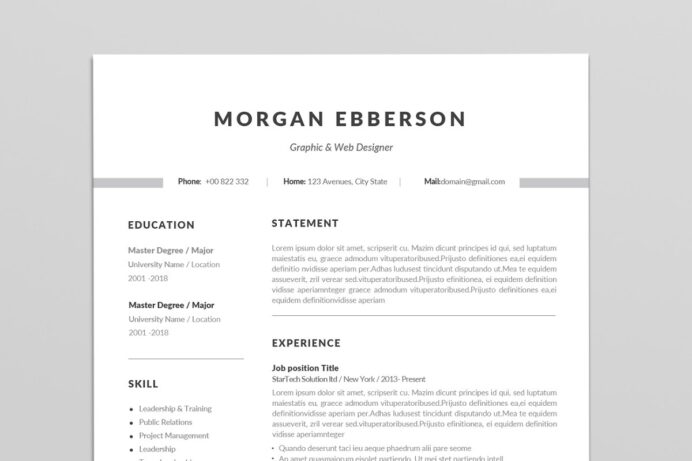 single resume template addictionary word staggering sample accounting objective Resume Single Page Resume Word Template