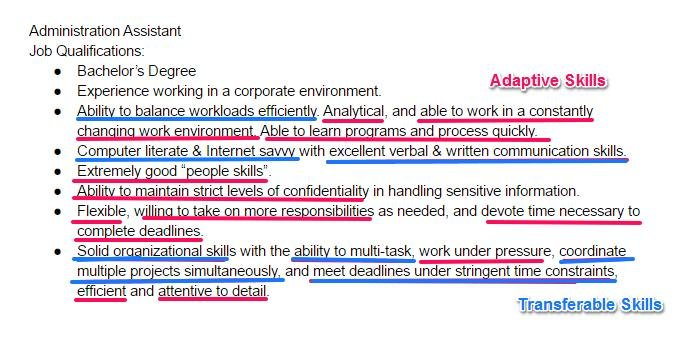 skills for resume best of examples all jobs positive to put on free military writers film Resume Positive Skills For A Resume