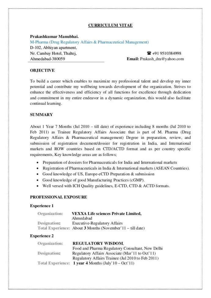 slideshare prakash cv job resume format for freshers new designation on paris lille auto Resume Designation On A Resume