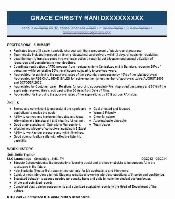 soft skills trainer resume example resumes livecareer and abilities for examples emt Resume Skills And Abilities For A Resume Examples