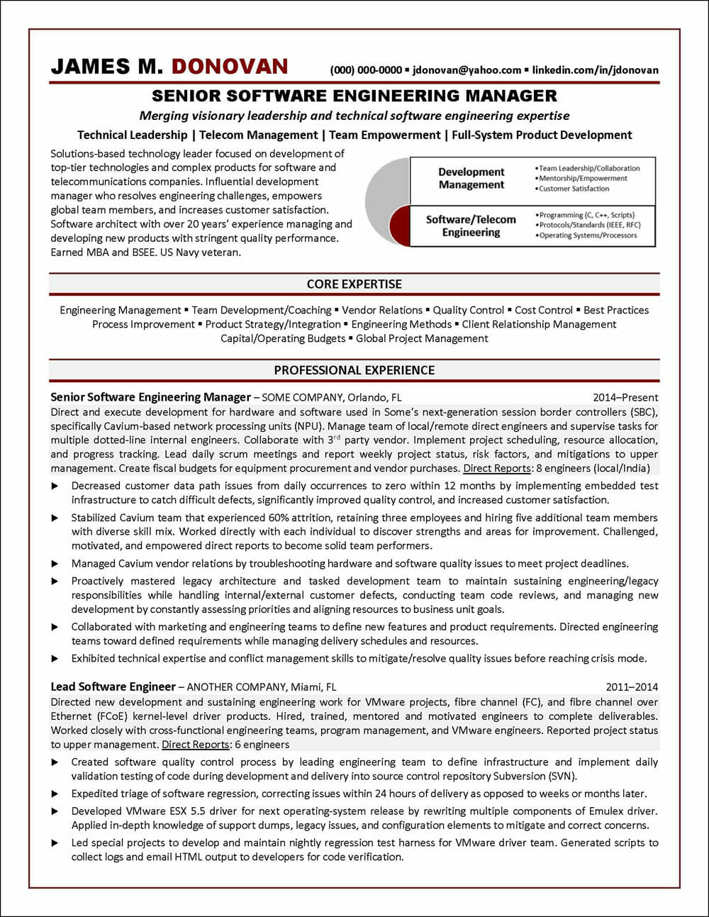 software engineer resume example distinctive career services technical examples Resume Technical Resume Examples 2019