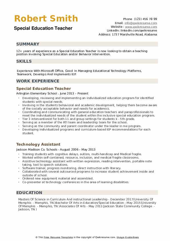 special education teacher resume samples qwikresume skills for pdf airframe and Resume Special Education Teacher Skills For Resume