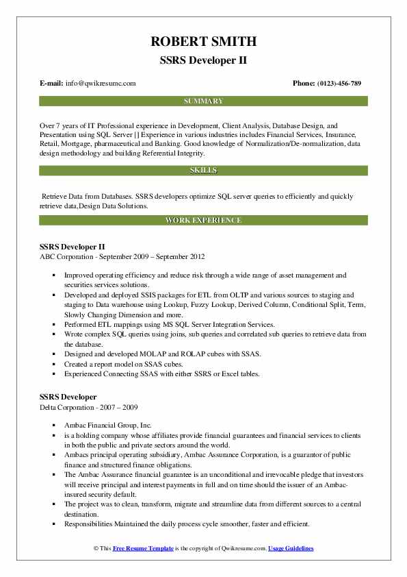 ssrs developer resume samples qwikresume for years experience pdf sandwich artist job Resume Ssrs Resume For 3 Years Experience