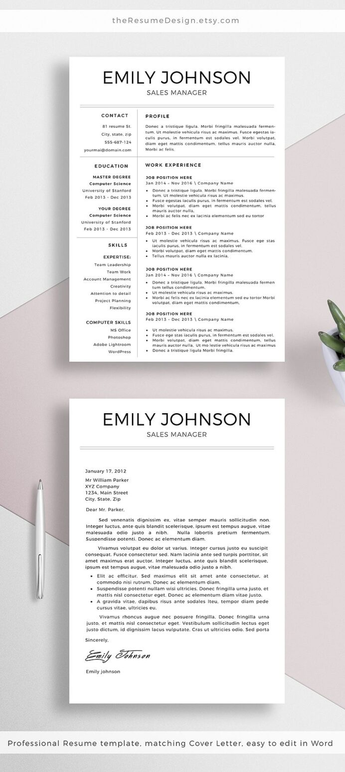 stand out from the crowd with our professional designs we are creating modern and easy to Resume Creating A Resume That Stands Out