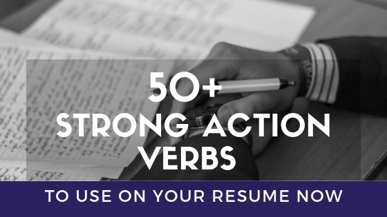 strong action verbs you need to use on your resume now for skills free search hotel room Resume Verbs For Resume Skills