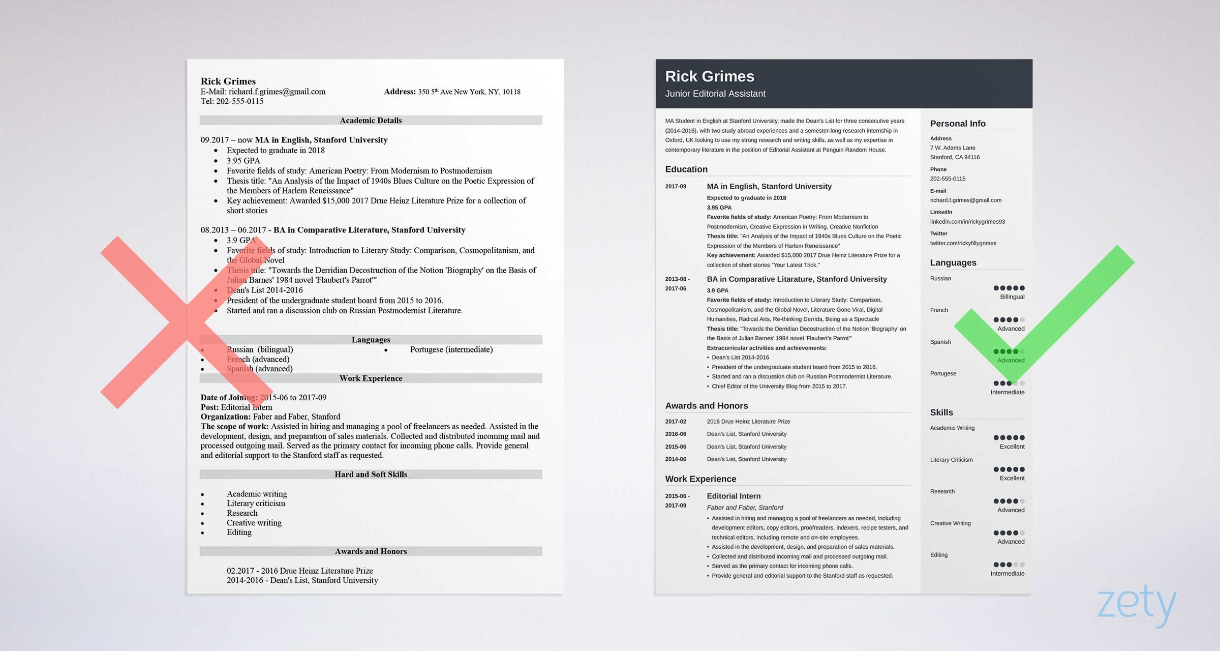 student resume examples templates for all students best college template article Resume Best College Student Resume Template