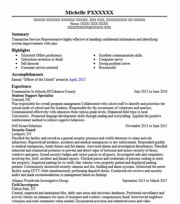 student support specialist resume example livecareer objective for college maker Resume Objective For A College Resume