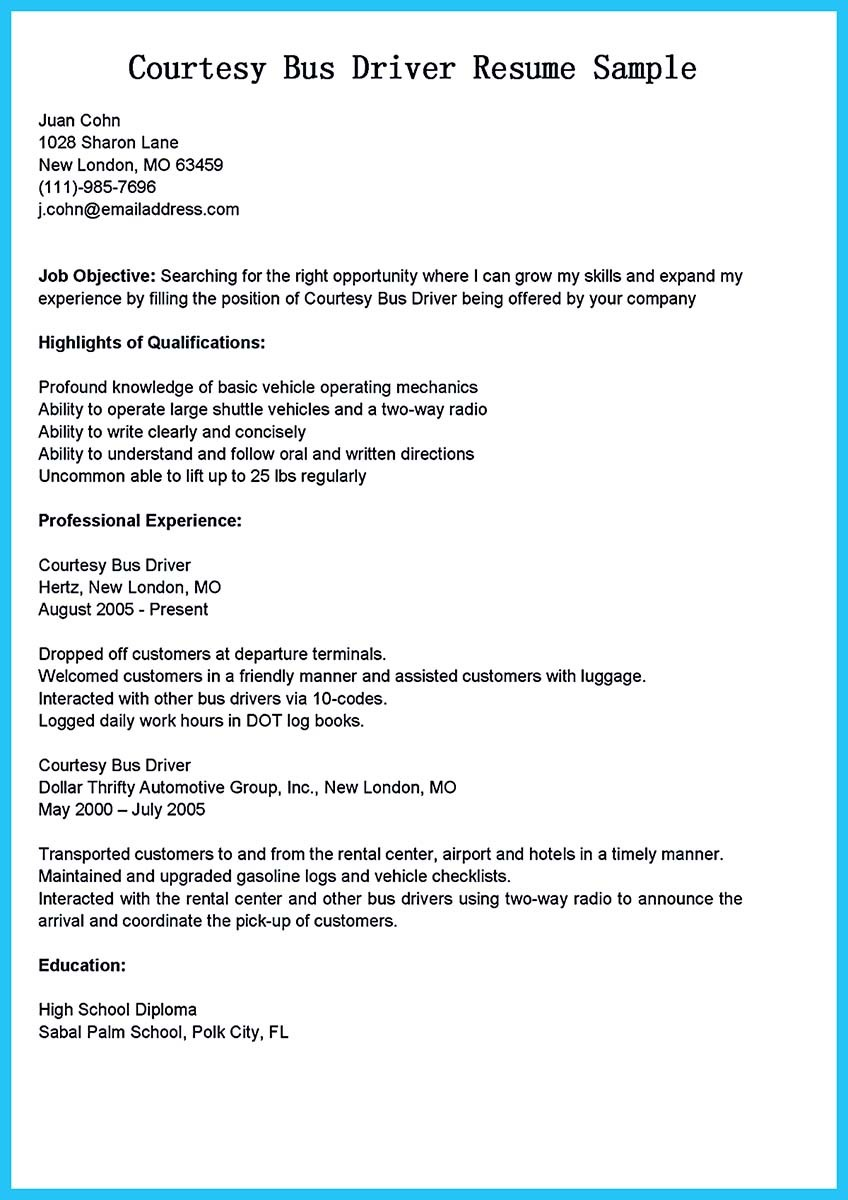 stunning bus driver resume to gain the serious job school example and for examples ios Resume School Bus Driver Resume