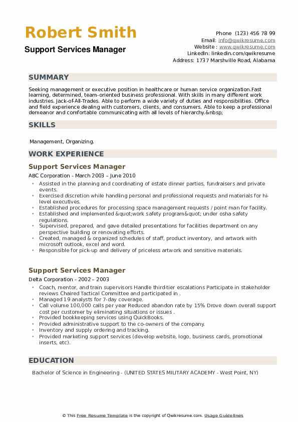 support services manager resume samples qwikresume pdf bank financial service Resume Support Services Manager Resume