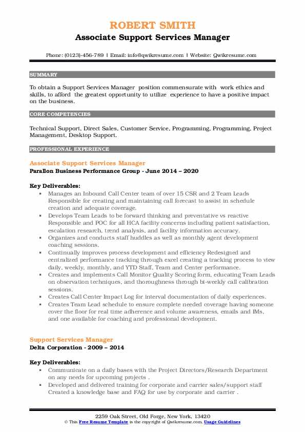 support services manager resume samples qwikresume pdf entry level optician accounts Resume Support Services Manager Resume