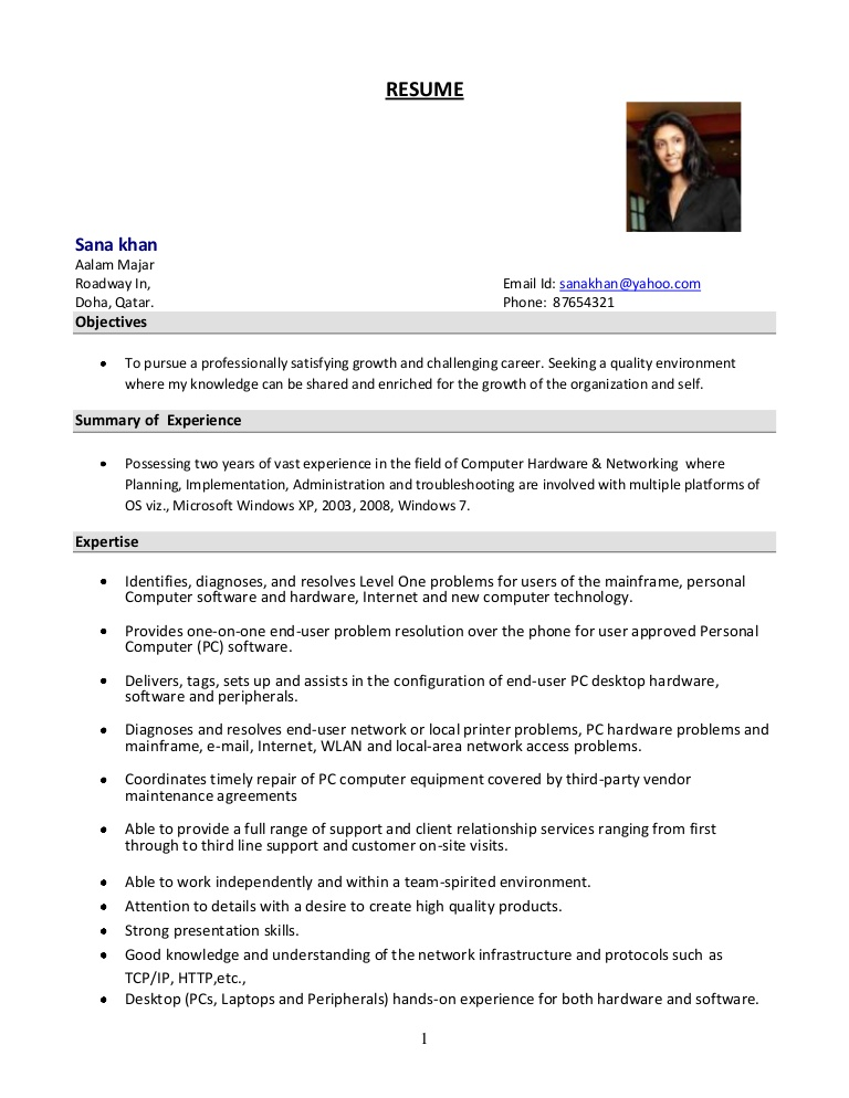 system administrator resume format experience two year systemadministratorresumeformat Resume Experience Resume Format Two Year Experience