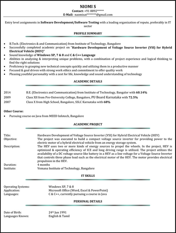 system administrator resume network naukri sample for years experience administrater Resume Sample Resume For 3 Years Experience